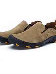 Синий / Коричневый / Серый / Хаки Мужская обувь Для прогулок / На каждый день / Для занятий спортом Замша Лоферы