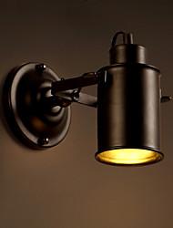 AC 100-240 MAX 60W E26/E27 Rústico/ Campestre Pintura Característica for Mini Estilo,Luz hacia abajo Candelabro de pared Luz de pared