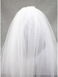 Tulle And Russian Wedding Veil Two-tier Elbow Veils