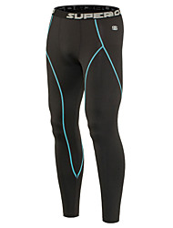 Men's Running Pants/Leggings/Tights Breathable Static-free Wicking Compression Yoga/Fitness/Cycling