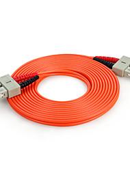 shengwei® sc (UPC) -SC (UPC) simplex fibra de modo único cabo de correção de 3m / 5m / 10m