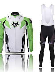 Tenus ( Vert claire ) de Cyclisme -Etanche / Respirable / Isolé / Séchage rapide / Résistant à la poussière / Vestimentaire / Pare-vent /
