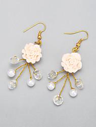 Drop Earrings Women's Imitation Pearl/Alloy Earring Crystal/Imitation Pearl