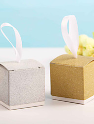 Gold&Sliver Party Favor Boxes Candy Box Wedding Favor Box Candy Box  (Set of 12)