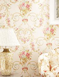 contemporaine papier peint art déco 3d Pastorale grand mur fleur de tapisserie art non-tissé mur de tissu