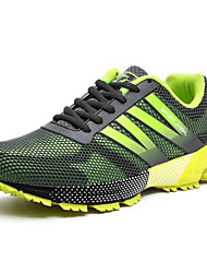 Men's Running Shoes Tulle Blue / Yellow / Green