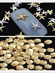 Jóias de Unhas - Adorável - para Dedo - de Metal - com 50pcs - 3mm  5mm - ( cm )