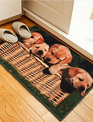 Hand Wash Absorbent Kitchen Doormat Also for Bath Foot Pad Color A