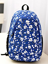 Women Canvas Casual / Outdoor Backpack - Pink / Blue / Black
