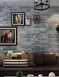 Geométrica Papel pintado Contemporáneo Revestimiento de pared , PVC/Vinilo 0.53m*10m