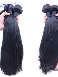 3Pcs/Lot Softest Brazilian Virgin Hair Straight 100% Human Hair Weft Brazilian Hair Weave Bundles