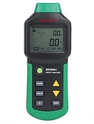 Mastech Ms5908c Circuit Analyzer - Electric Energy Analyzer - Line Insulation - Circuit Safety Tester(EU Standard)