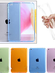 Para Transparente Funda Cubierta Trasera Funda Un Color Suave TPU Apple iPad Air 2 / iPad Air
