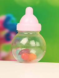 Feeding Bottle Shaped Candy Gift Container Christening Baby Favors Shower Wedding Favors  Set of 12