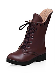 Women's Shoes Low Heel Round Toe/Closed Toe Boots Outdoor
