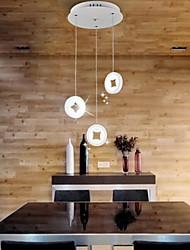 Lampade a sospensione putian ™ condotto moderna / sala da pranzo / letto / cucina / studio acrilico metallo