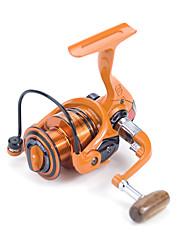 Carrete de la pesca Carretes para pesca spinning 4.9:1 10 Rodamientos de bolas IntercambiablePesca de baitcasting / Pesca en hielo /
