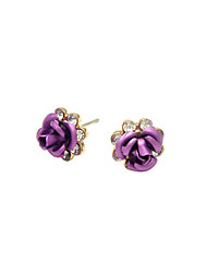 Stud Earrings Women's Alloy Earring