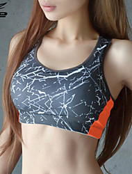 Outros Mulheres Ioga tops Sem Mangas Respirável / Materiais Leves Cinzento Ioga / Fitness S / M / L / XL