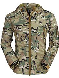 Outdoor Men's Jacket / Winter Jacket Camping & Hiking / Hunting / Fishing / Climbing / Cycling/BikeWaterproof / Breathable / Anti-Insect