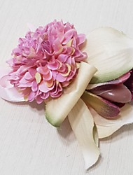 Wedding Flowers Hand-tied Peonies Wrist Corsages