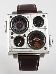Fashion Trends In World Time Belt Quartz Watch