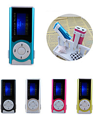 mini clip usb mp3-muziek media player lcd-scherm ondersteuning 16GB Micro SD TF-kaart