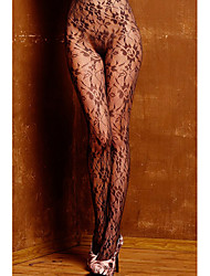 Women's Floral Lace Sheer Pantyhose