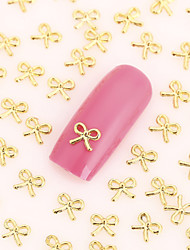 200PCS Lovely Nail Art Nail Jewelry Nail Decorations Gold Finger Alloy for Aryclic Nail Tips Wedding Decorations