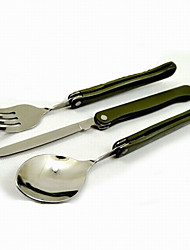 Fashion Stainless Steel Fork/Knives/Spoon  Multitools Camping/Outdoor