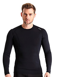 Running Base Layers / Compression Clothing / Tops Men's Long SleeveBreathable / Insulated / Quick Dry / Thermal / Warm / Compression /