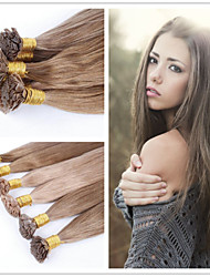 "18""-28""  Brazilian Human Hair Extension Straight 1g/s 100G/pack Flat Tip Hair Extension Fusion Hair Extension"