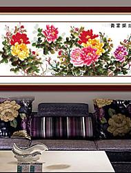 DIY Kit вышивки крестом, цветочные 185 * 80