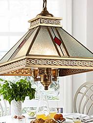 5 Lámparas Colgantes ,  Tradicional/Clásico Latón Característica for Mini Estilo MetalDormitorio / Comedor / Cocina / Habitación de