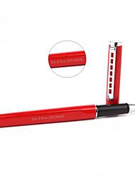 Canetas - Presente personalizado - Vermelho - de Aço Inoxidável