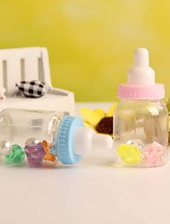Feeding Bottle Shaped Candy Gift Container Christening Baby Shower Wedding Favors  Set of 12
