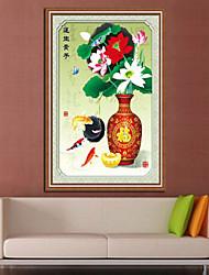 DIY KIT Cross Stitch , Floral 50*68