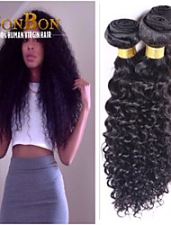 1 pcs/lot Natural Black Brazilian Virgin Hair Kinky Curly
