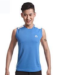 WEST BIKING® Mens Sports Vest Breathable Quick-Drying Vest Cool Solid