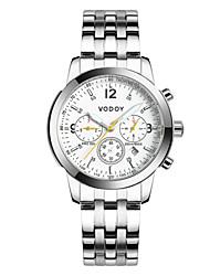 Vodoy®Men's Wrist Watch Sport Steel Water Resistant Mechanical Watch
