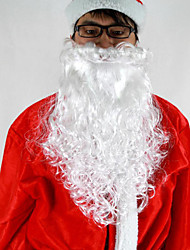 Fashion Memory Christmas Santa Claus Santa Suits Big White Beard For Adult 1 PC