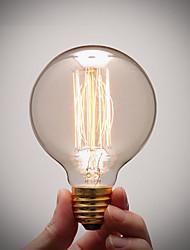 чистый медная цоколя лампы E27 ретро старинные художественные лампы накаливания промышленные лампа накаливания 40 Вт