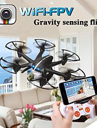 fpv rc Quadrotor MJX zangão x800 com câmera c4005 wi-fi fpv g-sensor de tempo real Flip Video transmissão helicóptero 3d