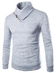 Happy boy Foreign trade new half men's sweater collar zipper jumper sweater