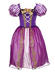 Zentai - Criança - de Halloween / Natal / Dia da Criança - Fantasias Princesa - Fantasias - Vestido