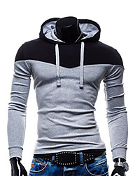Men's Long Sleeve Set Head Cultivate One's Morality Hoodie & Sweatshirt