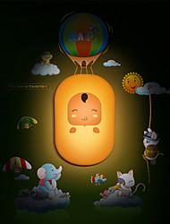 Cute Yellow Baby Light Induction Control LED Wall Lamp Night Light Night lamp Children Christmas Birthday Gift