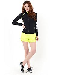 Running Jacket / Tops Women's Long Sleeve Compression / Lightweight Materials / Sunscreen / Sweat-wicking ChinlonFitness / Racing /