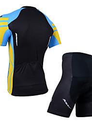 Tenus ( Noir ) de Cyclisme -Etanche / Respirable / Isolé / Séchage rapide / Résistant à la poussière / Vestimentaire / Pare-vent /