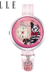 The New Girl Cartoon Watch Simple Quartz Watch Waterproof Watch